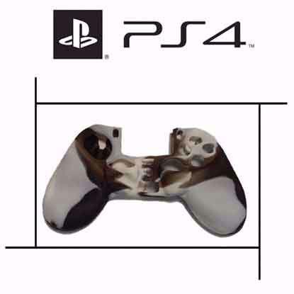 تصویر روکش دسته پلی استیشن PS4 کرم چریکی