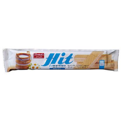 ویفر شیری شیرین عسل مدل هیت حجم 20 گرم