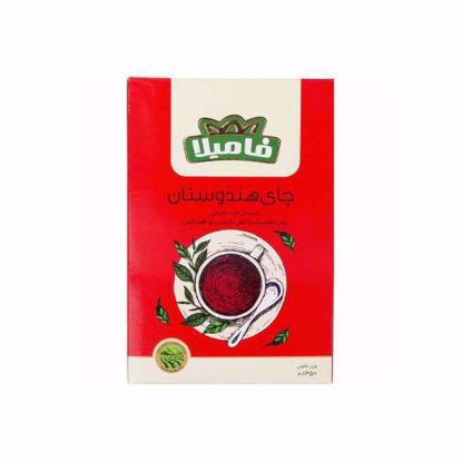 تصویر چای هندوستان فامیلا 100 گرمی قرمز کلاسیک