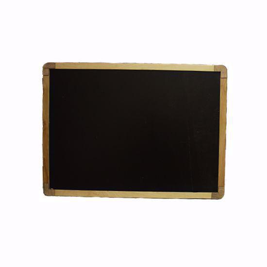 تصویر تخته سیاه گچی دورو وایت برد دار مدل مایسا 50*70