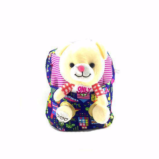 تصویر کوله پشتی عروسکی مدل خرس