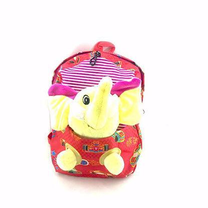 تصویر کوله پشتی عروسکی مدل فیل