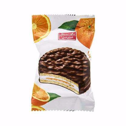 تصویر والس شکلاتی پرتقال 22 گرمی شیرین عسل