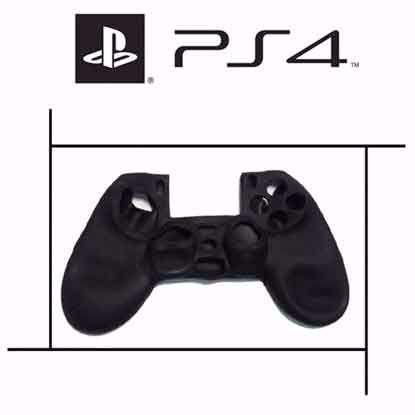 تصویر روکش دسته پلی استیشن PS4 مشکی ساده