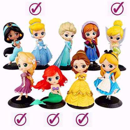 عروسک فیگور پرنسس 6 عددی