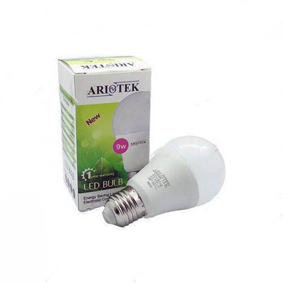 لامپ LED حبابی 9 وات آریوتک