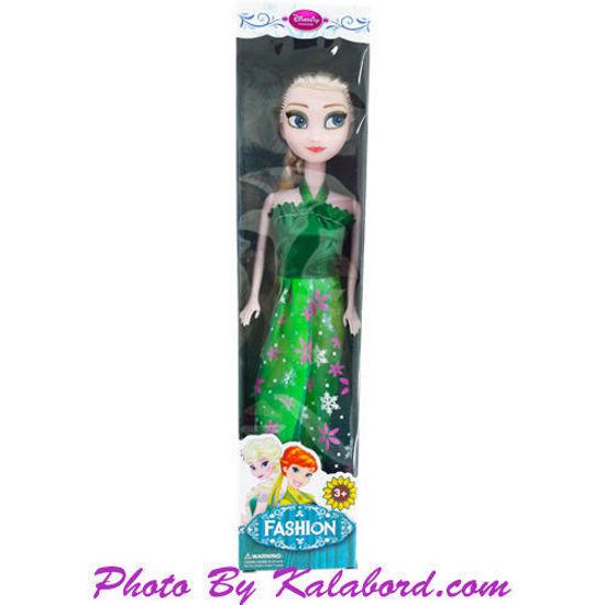 عروسک جعبه ای السا فروزن دیزنی با لباس سبز