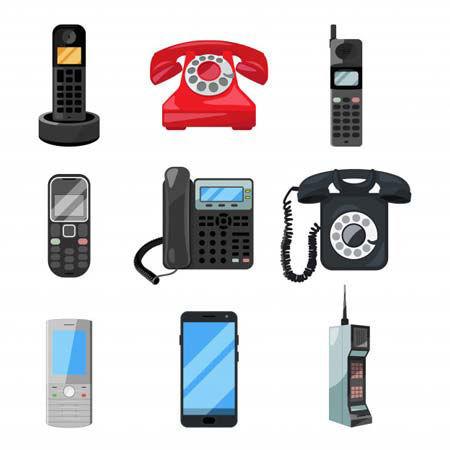 تصویر برای دسته تلفن