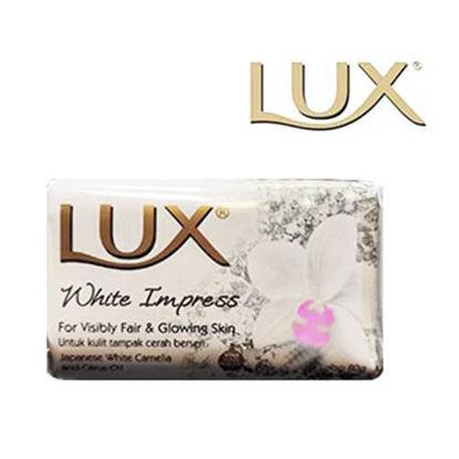 صابون لوکس مدل White Impress وزن 80 گرم