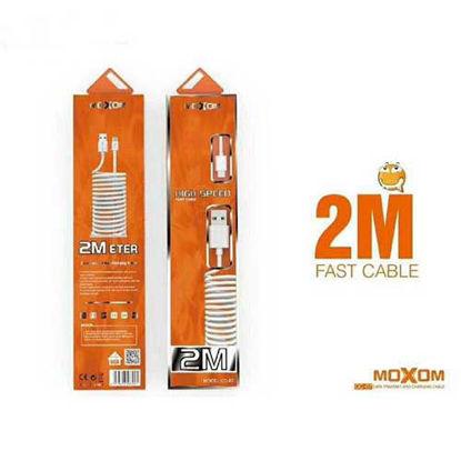 کابل شارژ موکسوم اندرویدی مدل CC-07 به طول 2 متر