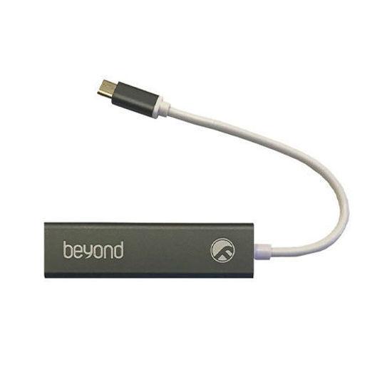 هاب سه پورت USB-C بیاند مدل BA-490