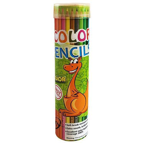 مداد رنگی 24 رنگ اسکای طرح زرافه کانگورو