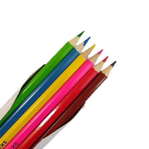 مداد رنگی 6 رنگ