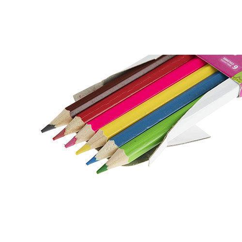 مداد رنگی 6 رنگ sky