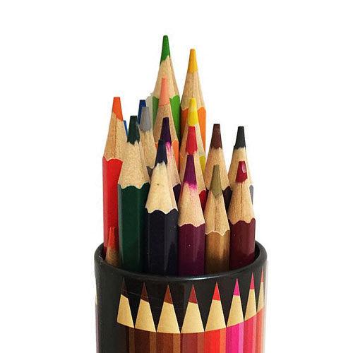تصویر مداد رنگی 24 رنگ SKY