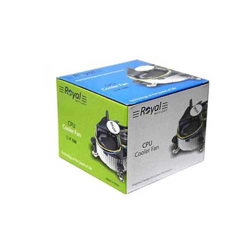 سیستم خنک کننده رویال مدل LGA 775 COPPER