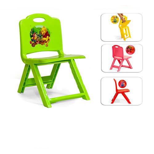 صندلی تاشو سبز رنگ