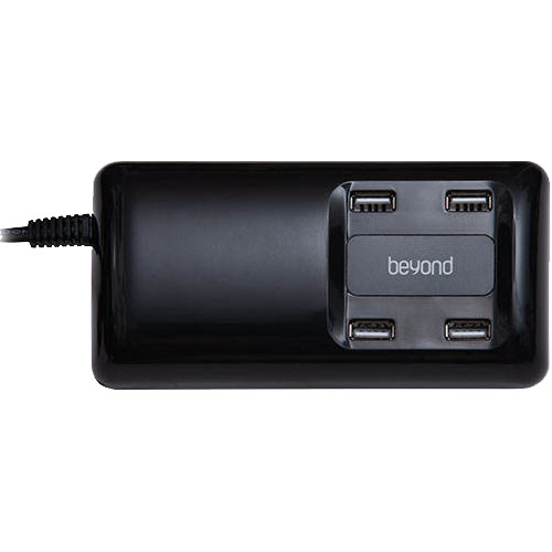 تصویر هاب شارژر 4 پورت USB بیاند مدل BA-100